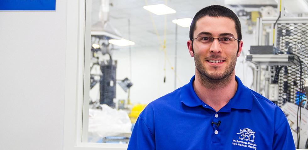 Taylor Jayne, Manufacturing Process Engineer - Saint-Gobain Performance Plastics Careers
