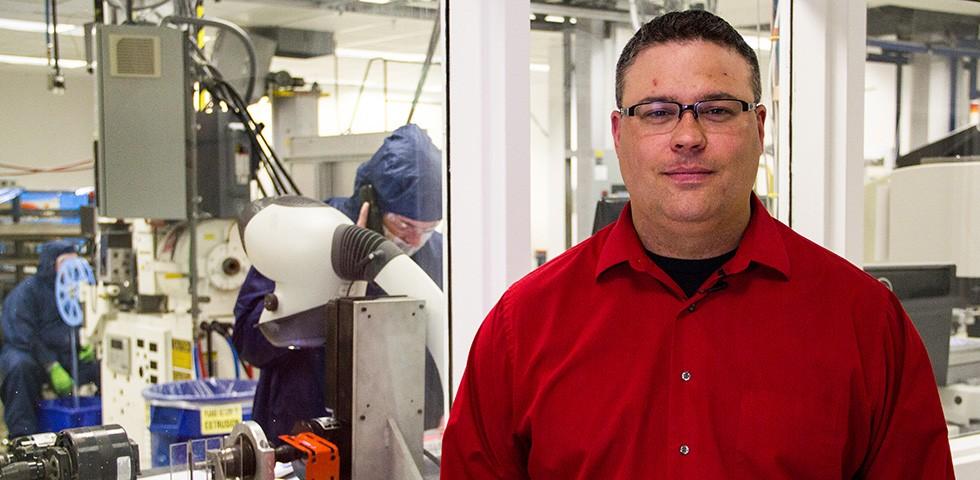 Chad DeSelle, Manufacturing Engineer, Automation - Saint-Gobain Performance Plastics Careers