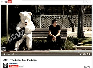 Careers - Check out Kino as the J!NX polar bear!
