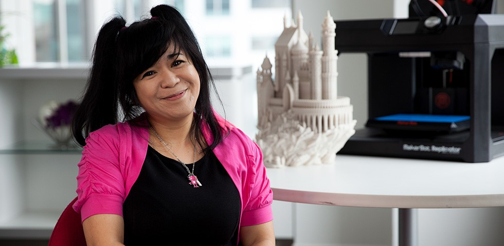 Carla Echevarria, Vice President of Digital Products Ecosystem - MakerBot Careers