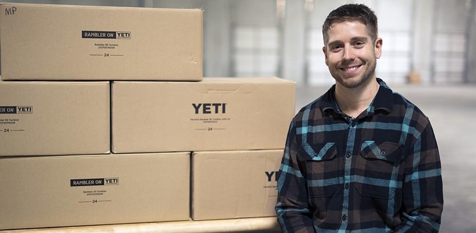 YETI Custom Shop Employee