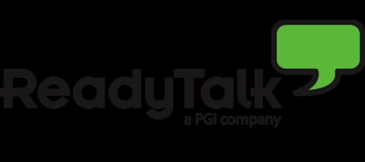 ReadyTalk, a PGi Company logo