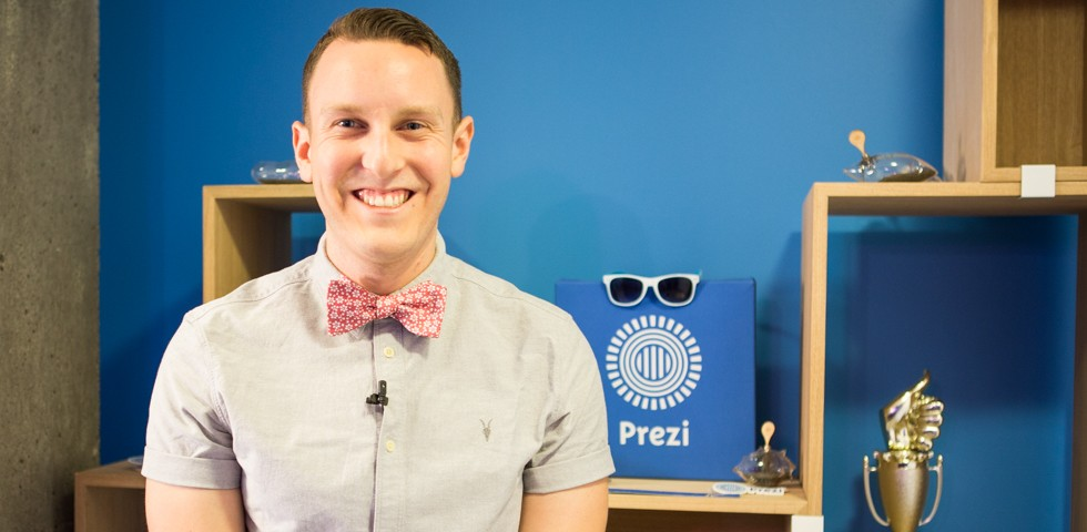 Brett Ponton, Inside Sales Associate - Prezi Careers