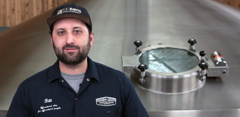 Bill Marchi, Brewing Supervisor - Dogfish Head Careers