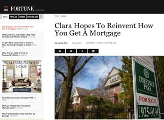 Careers - Check Out Clara's Feature In Fortune