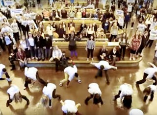Careers - Closer To Free Flash Mob