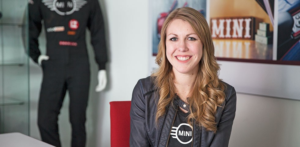 Kristen Cole, Option & Pricing Specialist, MINI - U.S. BMW Group Companies Careers