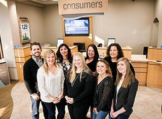 Careers - What Consumers Credit Union Does