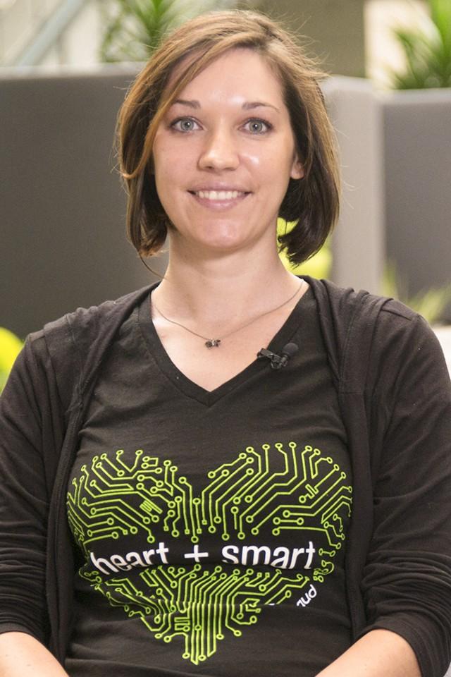 Amanda Glosson, Software Engineer - Blackbaud Careers