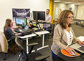 Careers - Office Life  An Informal Atmosphere