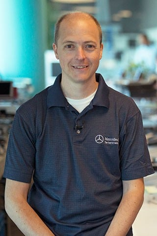 Alex Hilliger, Senior Manager, Advanced Graphics & Rendering - Mercedes-Benz Research & Development North America Careers