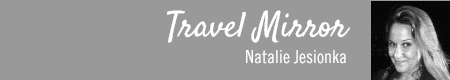Travel Mirror by Natalie Jesionka